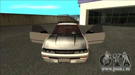 Nissan Silvia S13 Drift für GTA San Andreas Innenansicht