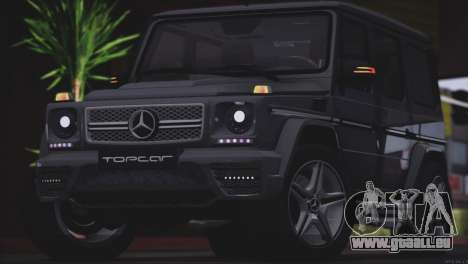 Mercedes Benz G65 AMG 2015 Topcar Tuning pour GTA San Andreas vue arrière