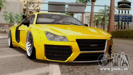 Obey 9F Liberty Works v1.0 für GTA San Andreas
