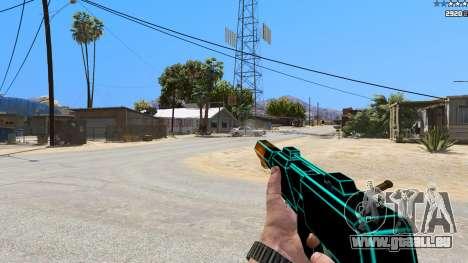 Saints Row 3 Cyber SMG Emissive v1.01 für GTA 5