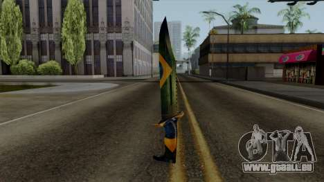 Brasileiro Knife v2 pour GTA San Andreas