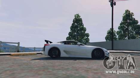 Lexus LFA 2012 für GTA 5