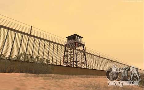 Nouvelle Base Militaire v1.0 pour GTA San Andreas troisième écran