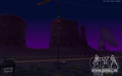 Nouvelle Base Militaire v1.0 pour GTA San Andreas neuvième écran