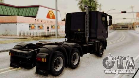 Volvo Truck from ETS 2 pour GTA San Andreas laissé vue