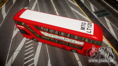 Wrightbus New Routemaster Metroline für GTA 4 rechte Ansicht