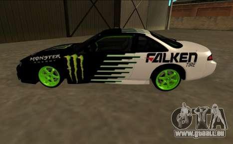 Nissan 200SX Drift Monster Energy Falken pour GTA San Andreas laissé vue