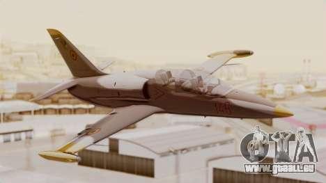Aero L39 ZA Albatros - Nr. 146 (Romania) für GTA San Andreas Rückansicht
