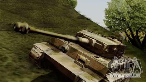Panzerkampfwagen VI Ausf. E Tiger pour GTA San Andreas vue de droite