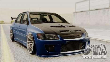 Mitsubishi Lancer Evolution v2 pour GTA San Andreas