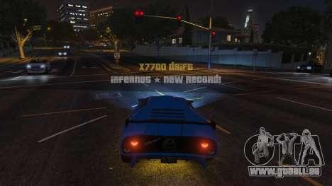 GTA 5 Drift HUD zweite Screenshot