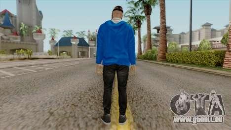 H2O Delirious Skin pour GTA San Andreas troisième écran