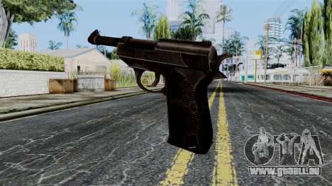 Walther P38 from Battlefield 1942 pour GTA San Andreas deuxième écran