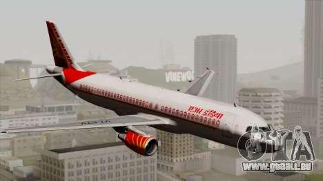 Airbus A320-200 Air India für GTA San Andreas