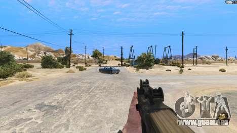 GTA 5 P-90 из Battlefield 4 fünfter Screenshot