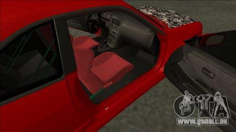 Nissan Skyline R33 Fairlady für GTA San Andreas zurück linke Ansicht