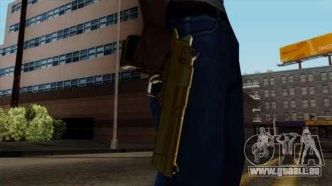 Golden Desert Eagle für GTA San Andreas dritten Screenshot