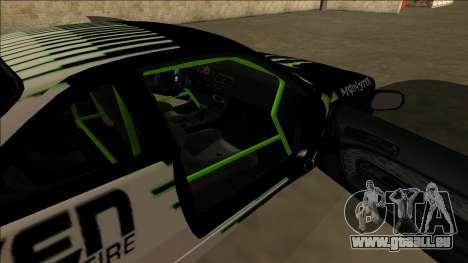 Nissan 200SX Drift Monster Energy Falken pour GTA San Andreas vue de dessous