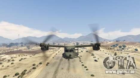 GTA 5 CV-22B Osprey (VTOL) sechster Screenshot