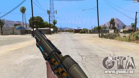 M2014 Gauss Rifle из Crysis 2 für GTA 5
