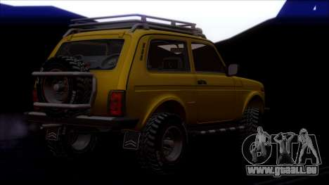 VAZ Niva 2121 Offroad pour GTA San Andreas roue