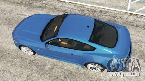 GTA 5 Ford Mustang GT 2015 vue arrière