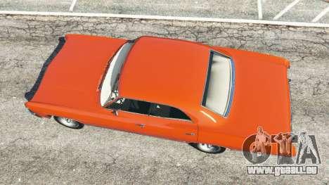 GTA 5 Chevrolet Impala 1967 vue arrière