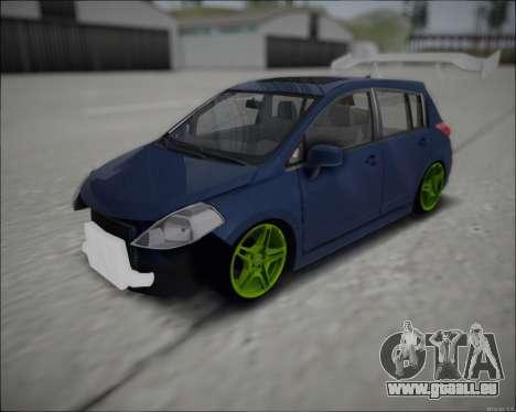 Nissan Tiida Drift Korch pour GTA San Andreas