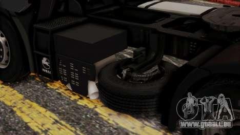 Iveco EuroStar Normal Cab für GTA San Andreas rechten Ansicht
