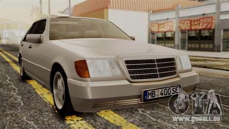 Mercedes-Benz W140 400SE 1992 für GTA San Andreas