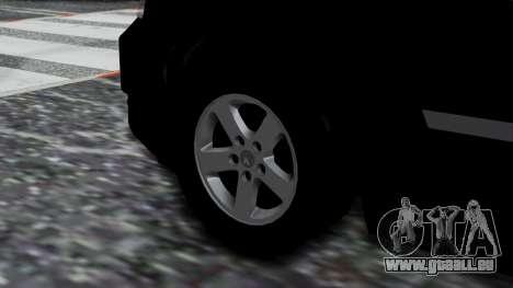 Dodge Grand Caravan 2010 pour GTA San Andreas sur la vue arrière gauche
