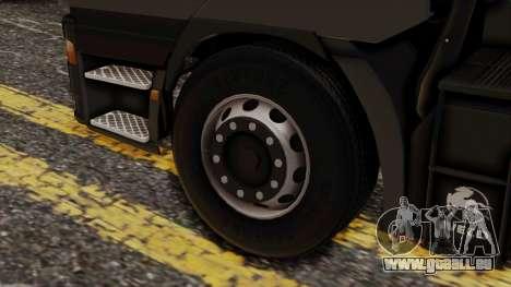 Iveco EuroStar Normal Cab für GTA San Andreas zurück linke Ansicht