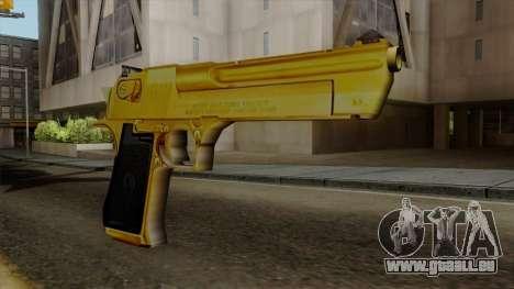 Golden Desert Eagle für GTA San Andreas