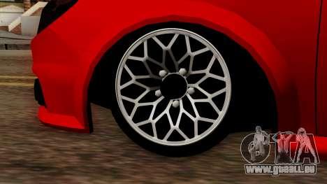 Opel Vectra C pour GTA San Andreas vue de droite