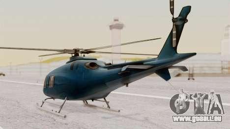 AW-119 Koala pour GTA San Andreas laissé vue