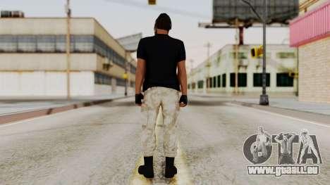 Skin DLC Ultimo Equipo En Pie für GTA San Andreas dritten Screenshot