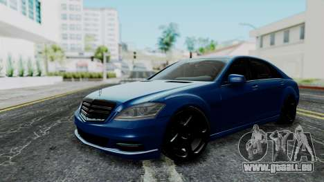 Mercedes-Benz W221 pour GTA San Andreas