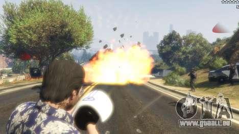 GTA 5 Cinematic Explosion FX 1.12a quatrième capture d'écran