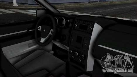 Dodge Grand Caravan 2010 pour GTA San Andreas vue de droite
