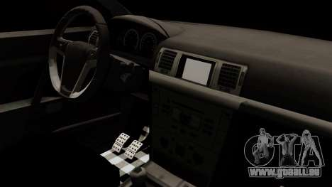 Opel Vectra C für GTA San Andreas Rückansicht