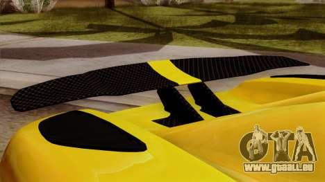 Koenigsegg Agera R 2014 pour GTA San Andreas vue de droite