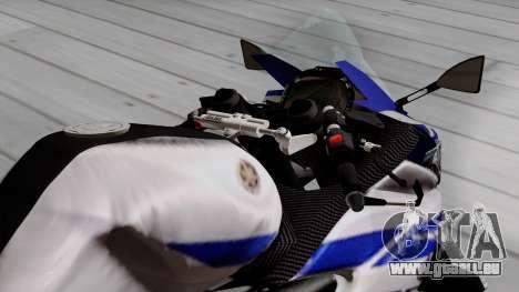 Yamaha YZF R-25 GP Edition 2014 für GTA San Andreas Rückansicht