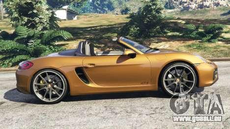 Porsche Boxster GTS für GTA 5