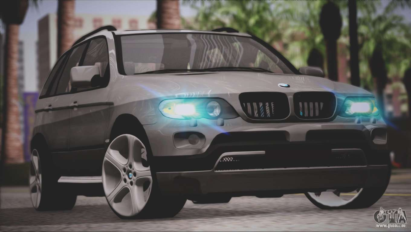 Bmw x5 e53 pour gta san andreas for Interieur x5 e53