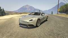 Aston Martin Vanquish V12 2015