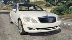 Mercedes-Benz S550 W221 v0.5 [Alpha]