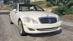 Mercedes-Benz S550 W221 v0.5 [Alpha]