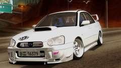 Subaru Impreza WRX STI седан pour GTA San Andreas