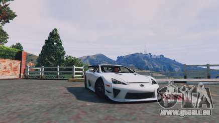 Lexus LFA 2012 pour GTA 5