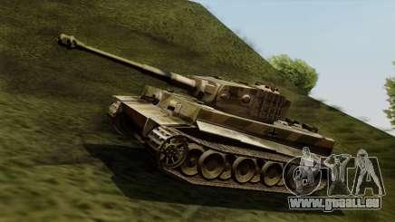Panzerkampfwagen VI Ausf. E Tiger pour GTA San Andreas